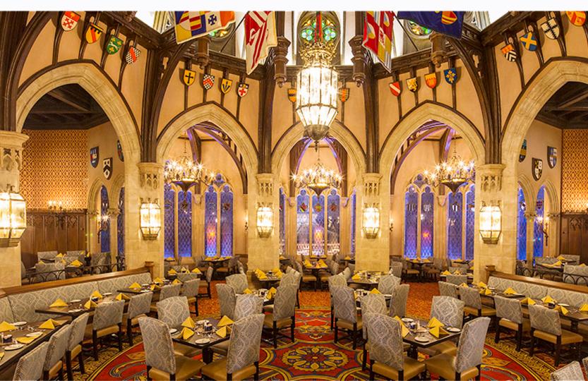 Cinderella Castle Restaurant Menu
