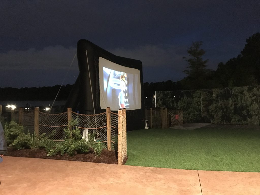 Disney's Movies under the stars