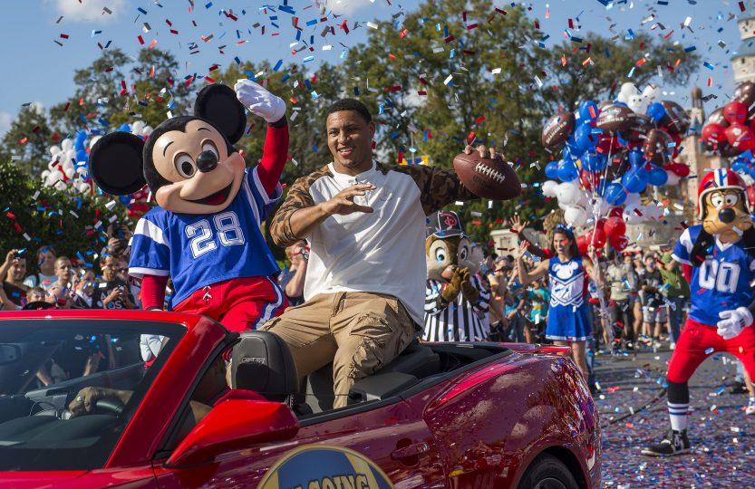 Super Bowl Mickey