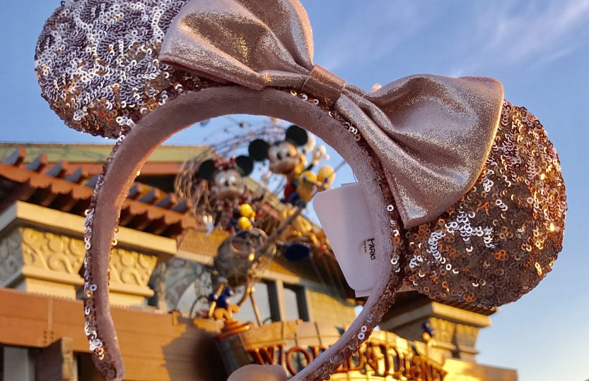 Win these beautiful Rose Gold Minnie Ears
