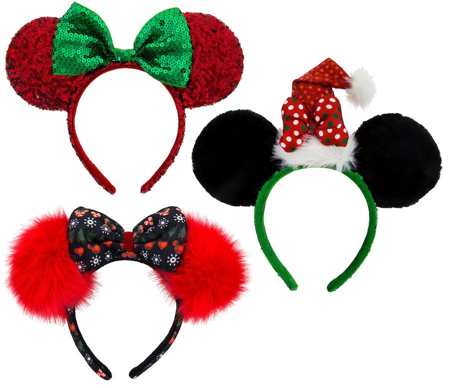 Christmas Minnie Ears