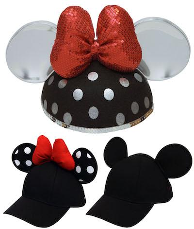 Minnie Ear Baseball Hats