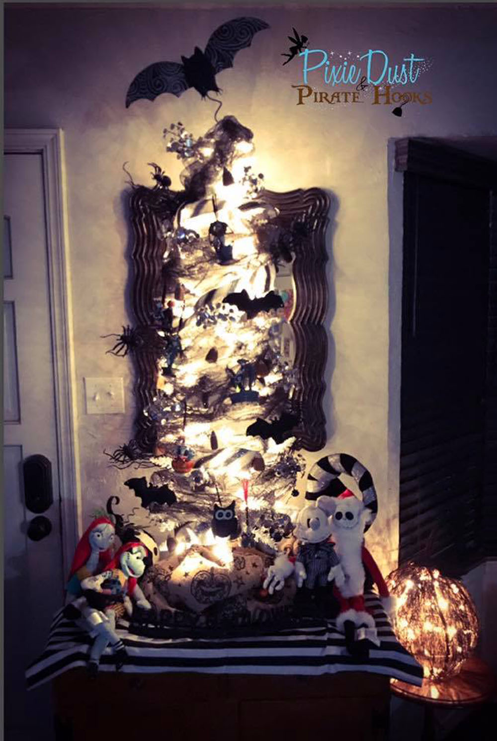 Diy Nightmare Before Christmas Tree The Savvy Pixie