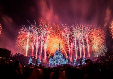 Disney World New Year's Eve Fireworks