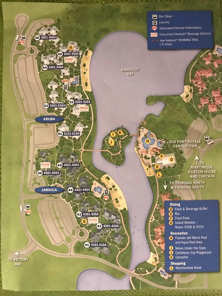 Whats it like at Disney's Caribbean Beach Resort While Under ... on
