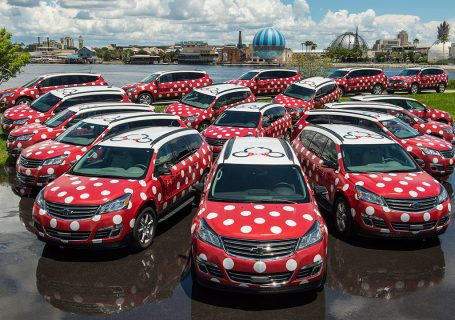 Disney World Minnie Van