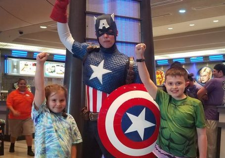Marvel Character Dinner at Universal Orlando