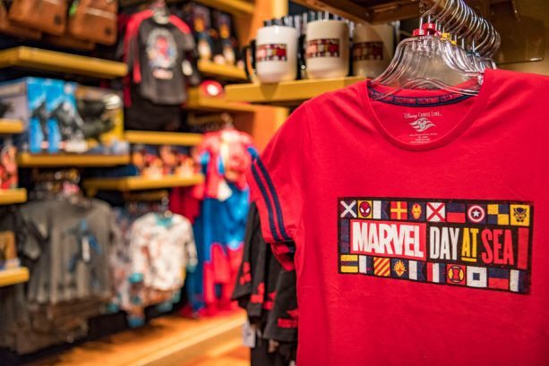 Marvel Day at Sea Tee